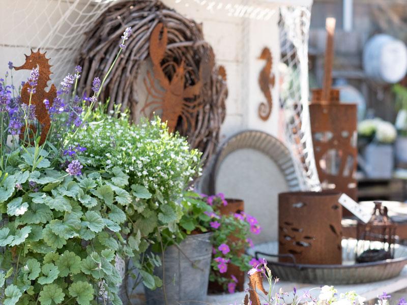 Garten-Accessoires im Filou Schafflund